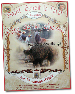 affiche fete chasse 2014