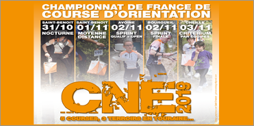 Championnat de France de Course d'Orientation 2019